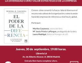 El poder de la diferencia, presentación Madrid
