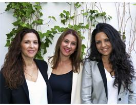 Jane Rodríguez, Rosa Rodríguez y Noemí Vico